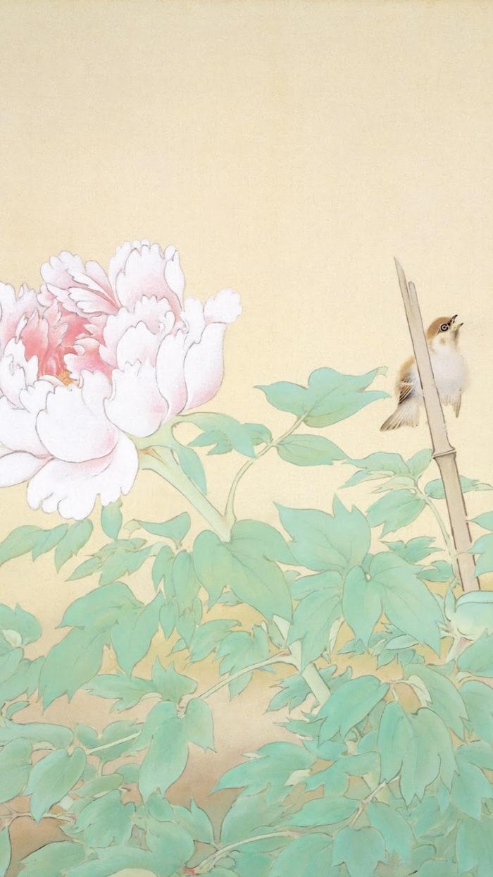 榊原紫峰 冨貴草 Sakakibara Shiho - Fuukigusa 1080x1920 2