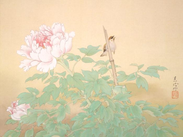 榊原紫峰 冨貴草 Sakakibara Shiho - Fuukigusa 2732x2048