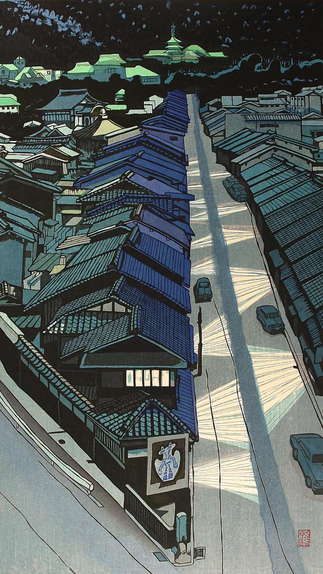 関野準一郎 京の夜 Sekino Junichiro - Kyo no yoru 1080x1920