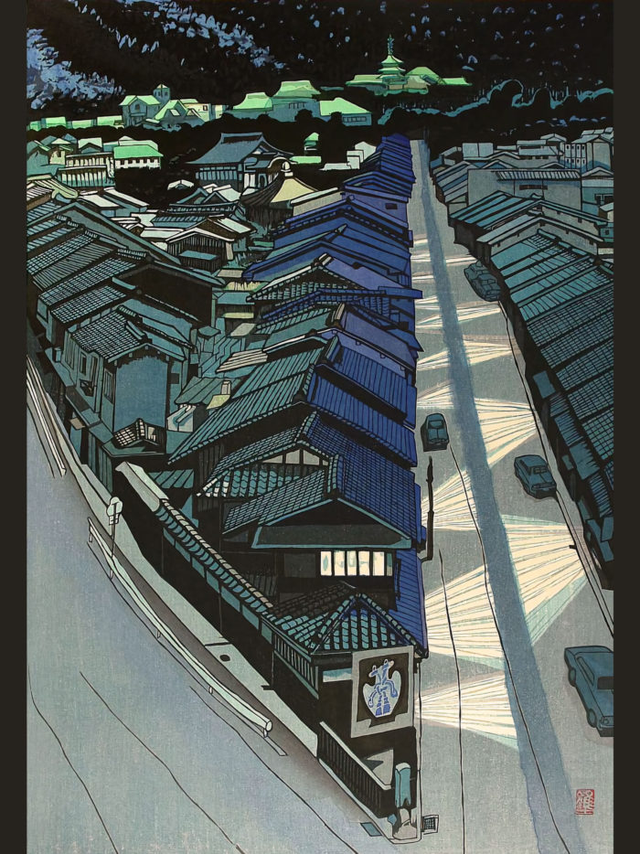 関野準一郎 京の夜 Sekino Junichiro - Kyo no yoru 2048x2732