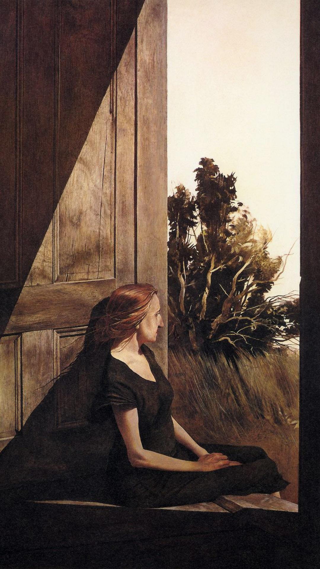 アンドリュー・ワイエス andrew wyeth - christina olson 1080x1920