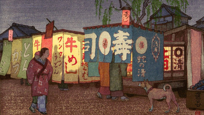 吉田遠志 夜の東京 Yoshida Toshi – Yoru no tokyo 1920x1080