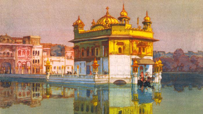 吉田博 アムリッサー Yoshida Hiroshi - Amritsar 1920x1080