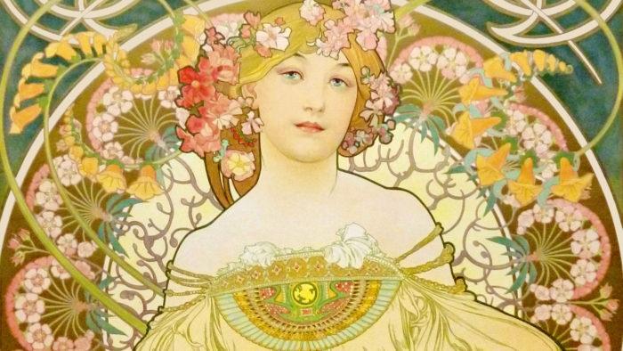 Alfons Mucha – Reverie 1920x1080