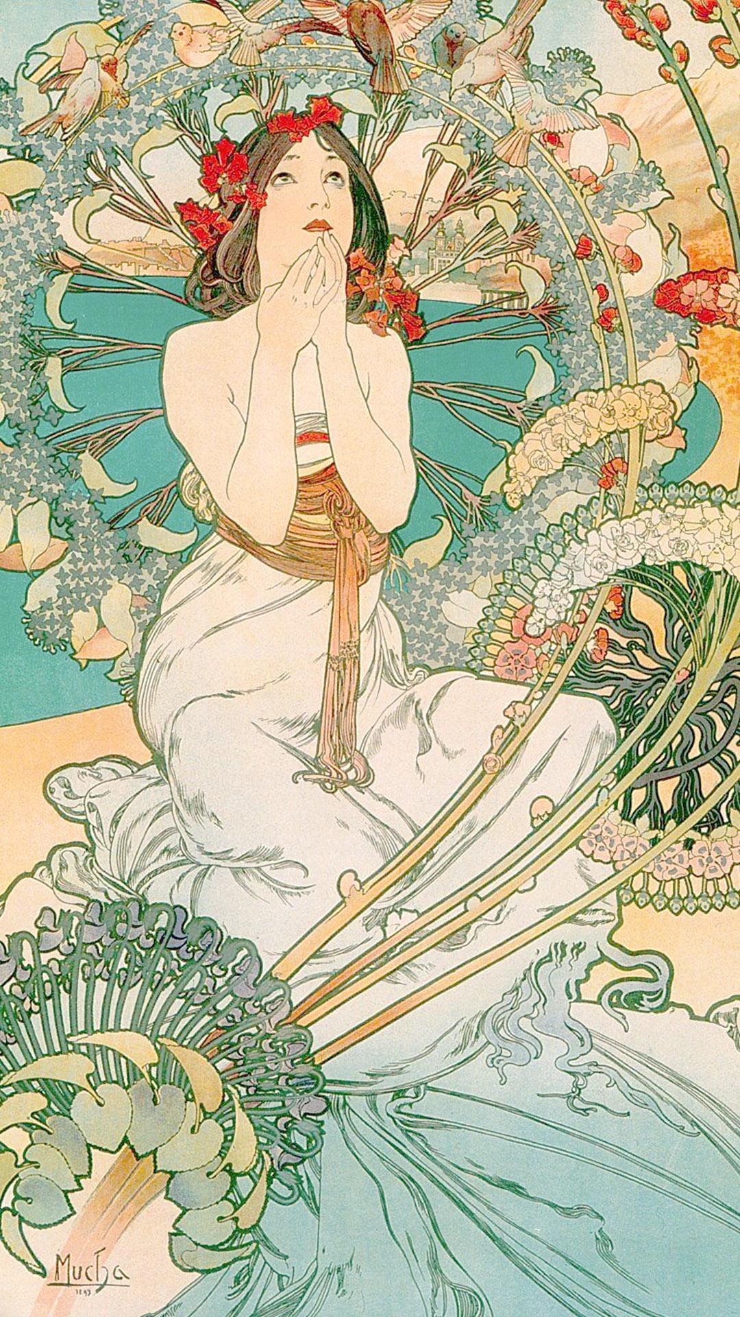 ミュシャ Alfons Mucha – MONACO MONTE CARLO 1080x1920 2