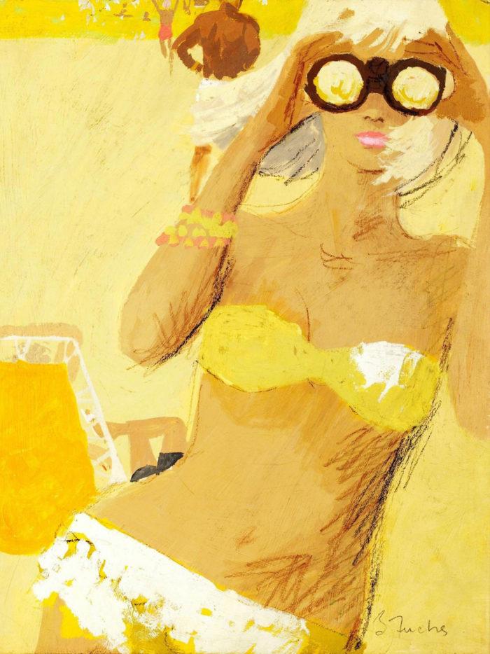 Bernie Fuchs - Girl with Binocular 2048x2732