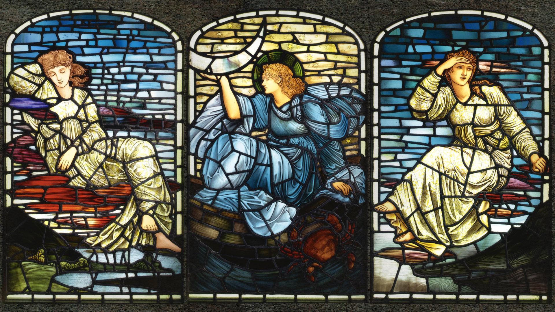 エドワード・バーン=ジョーンズ Edward Burne Jones - Stars 1920x1080
