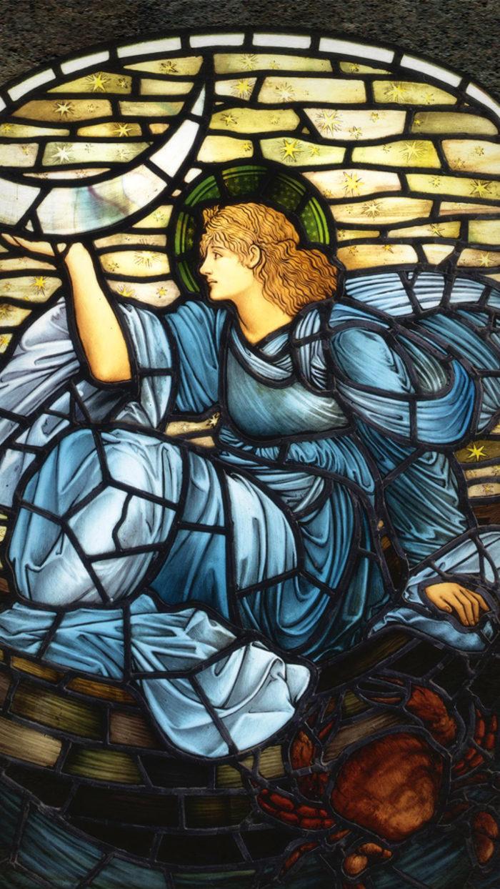 エドワード・バーン=ジョーンズ Edward Burne Jones - luna 1080x1920