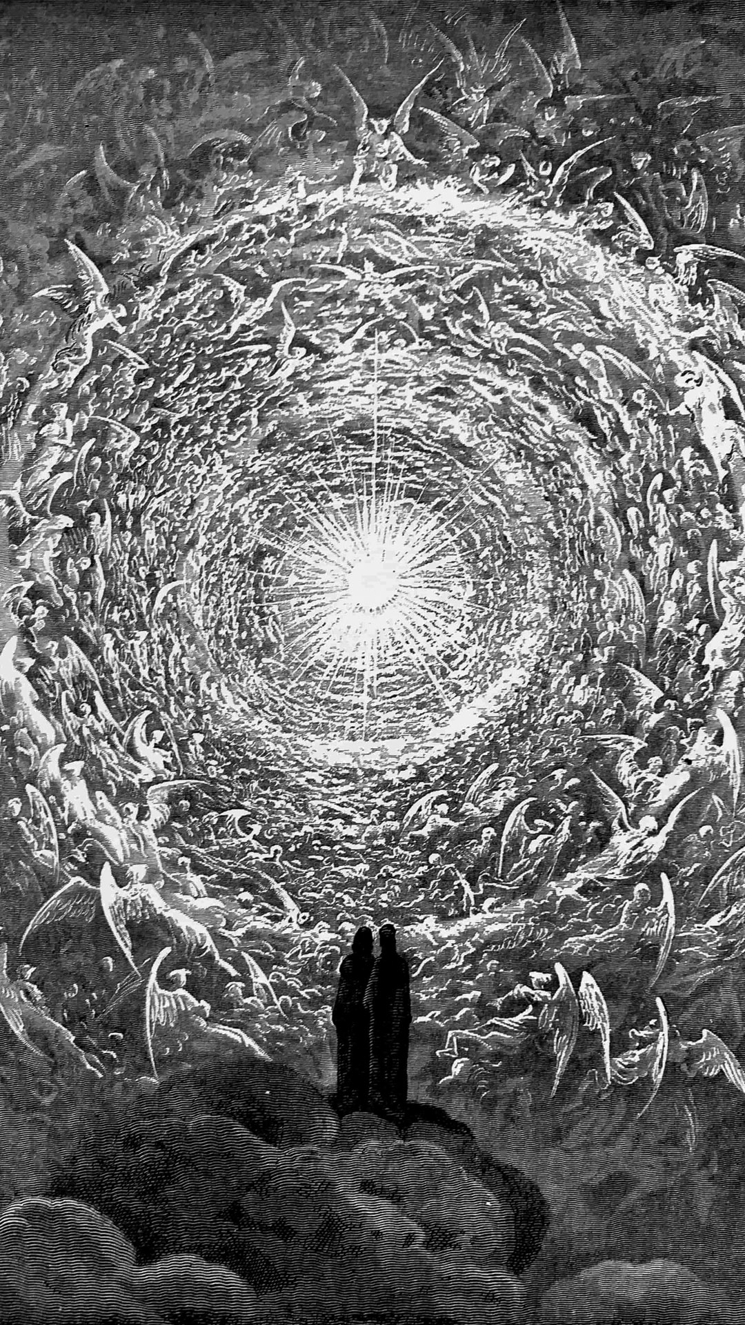 ギュスターブ・ドレ ダンテ 神曲 Gustave Dore - The Empyrean 1080x1920