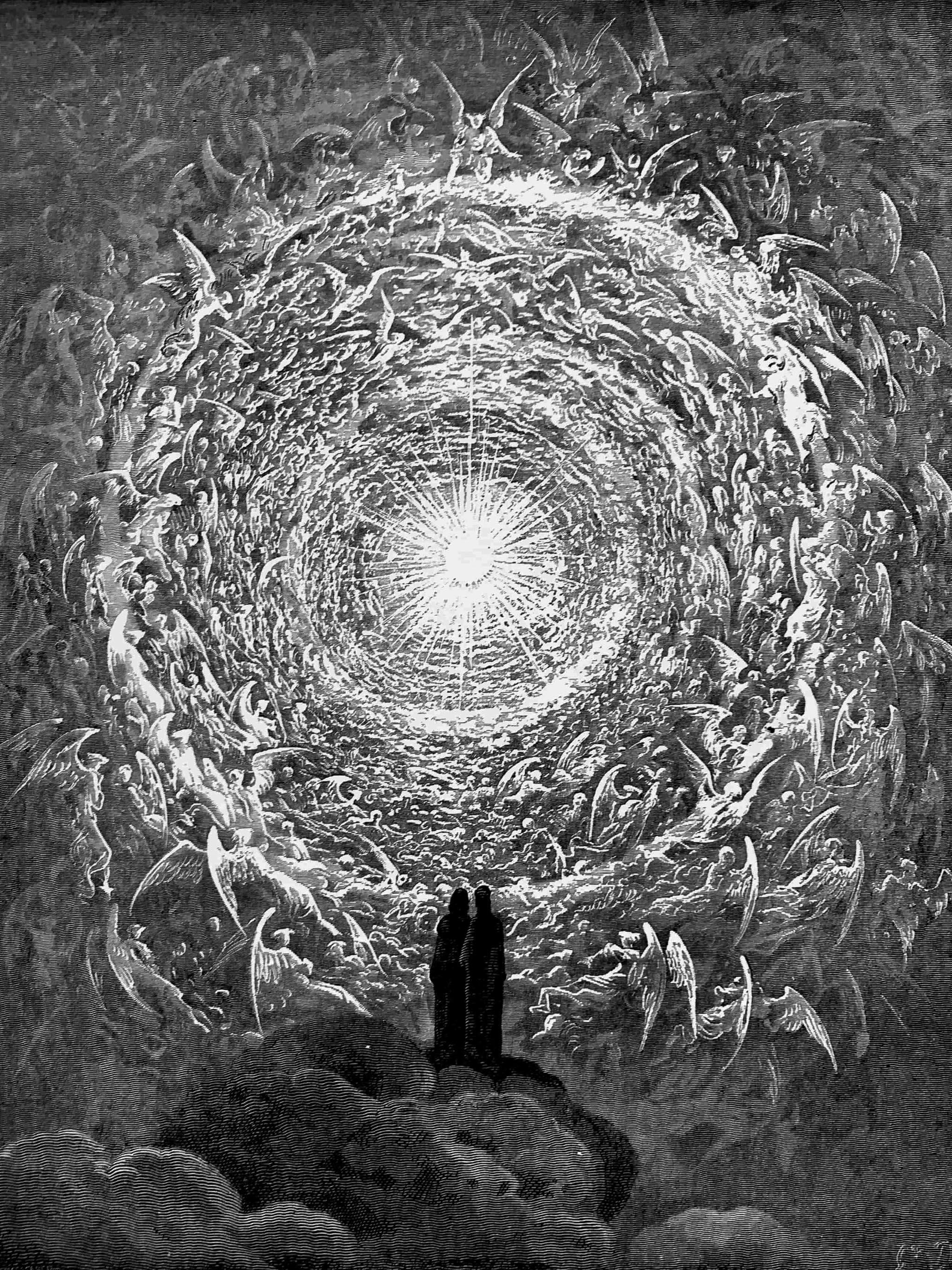 ギュスターブ・ドレ ダンテ 神曲 Gustave Dore - The Empyrean 2048x2732