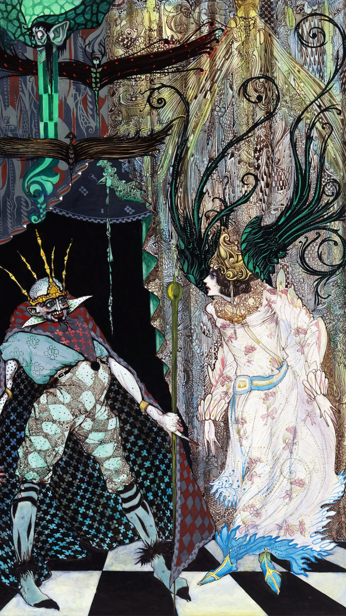 ハリー・クラーク 旅の道連れ Harry Clarke - The Traveling Companion 1080x1920