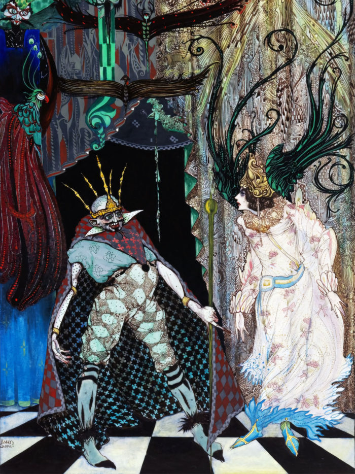 ハリー・クラーク 旅の道連れ Harry Clarke - The Traveling Companion 2048x2732