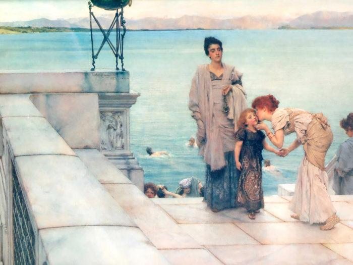 ローレンス・アルマ=タデマ Lawrence Alma-Tadema - A Kiss 2732x2048