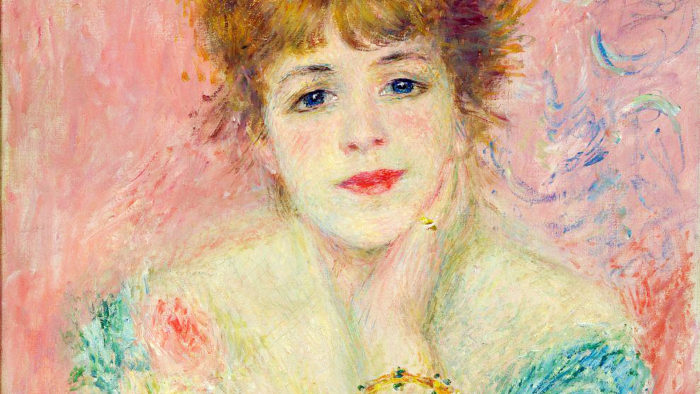 ルノワール renoir - Portrait of the actress Jeanne Samary 1920x1080