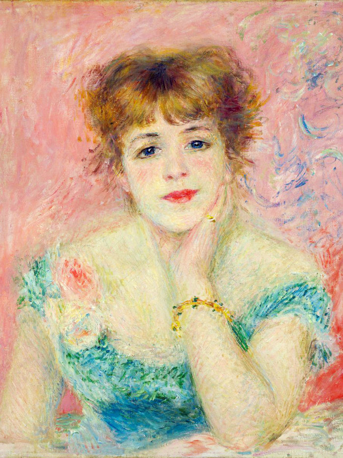 ルノワール renoir - Portrait of the actress Jeanne Samary 2048x2732