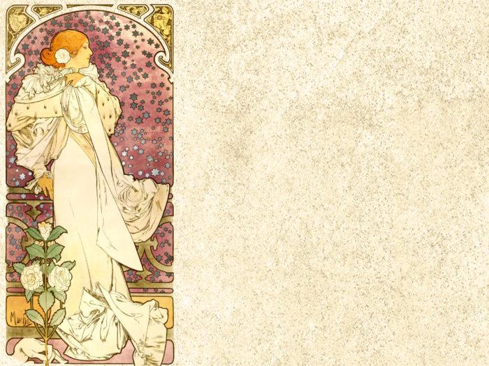 Alfons Mucha - La Dame aux Camélias 2048x2732