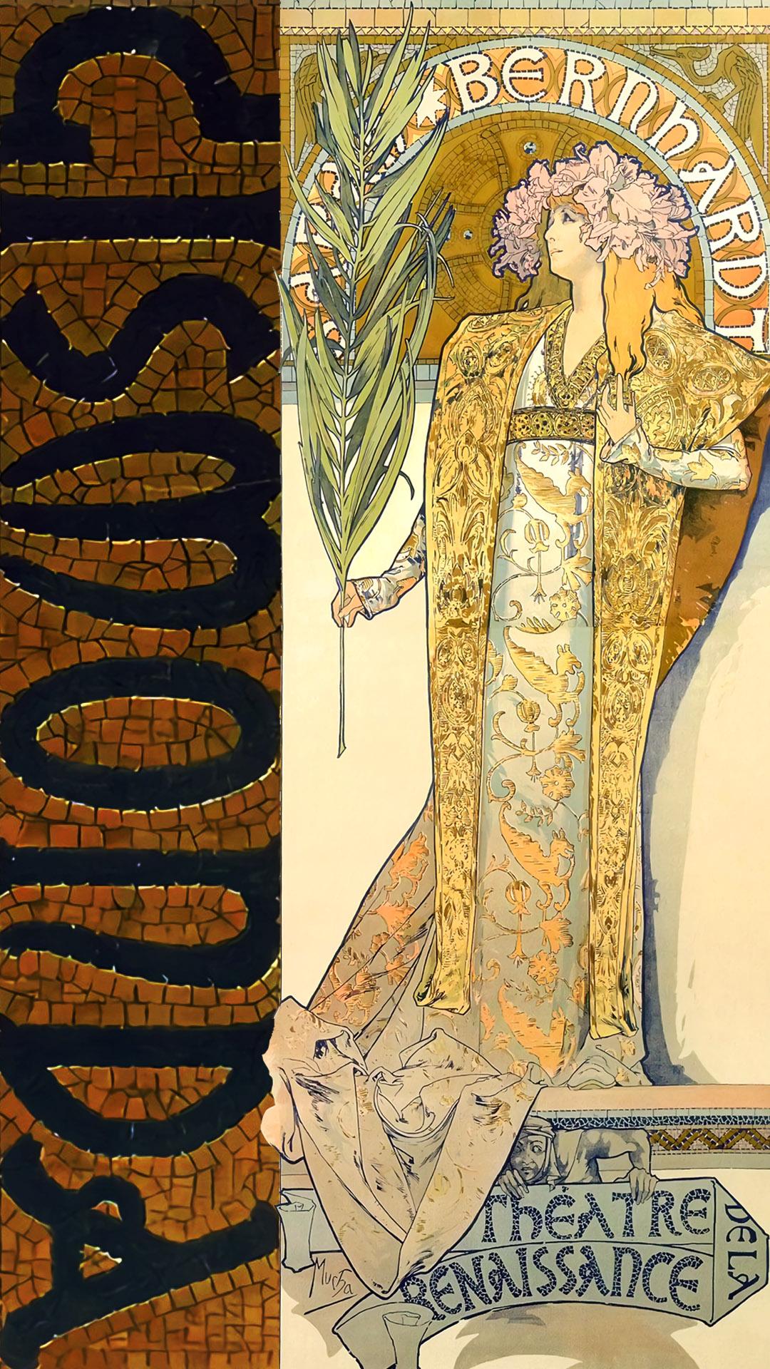 Alfons Mucha – Gismonda 1080x1920 2