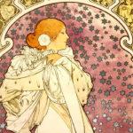 アルフォンス・ミュシャ / La Dame aux Camélias
