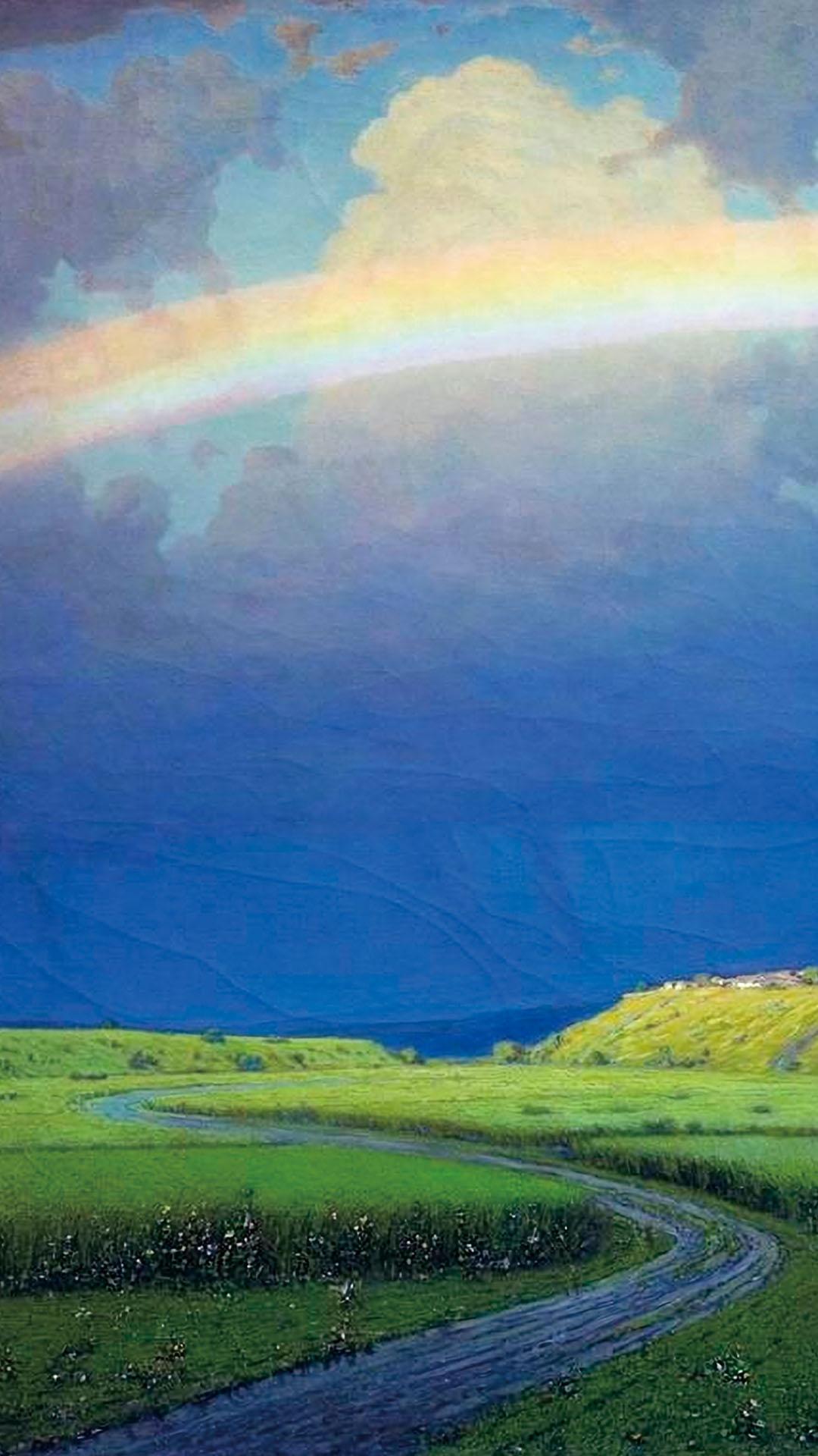 Arkhip Kuindzhi - Rainbow 1080x1920