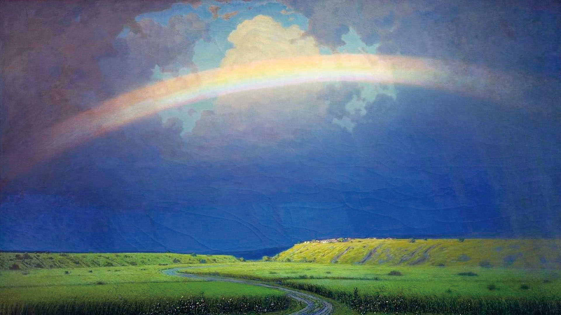 虹 Arkhip Kuindzhi - Rainbow 1920x1080