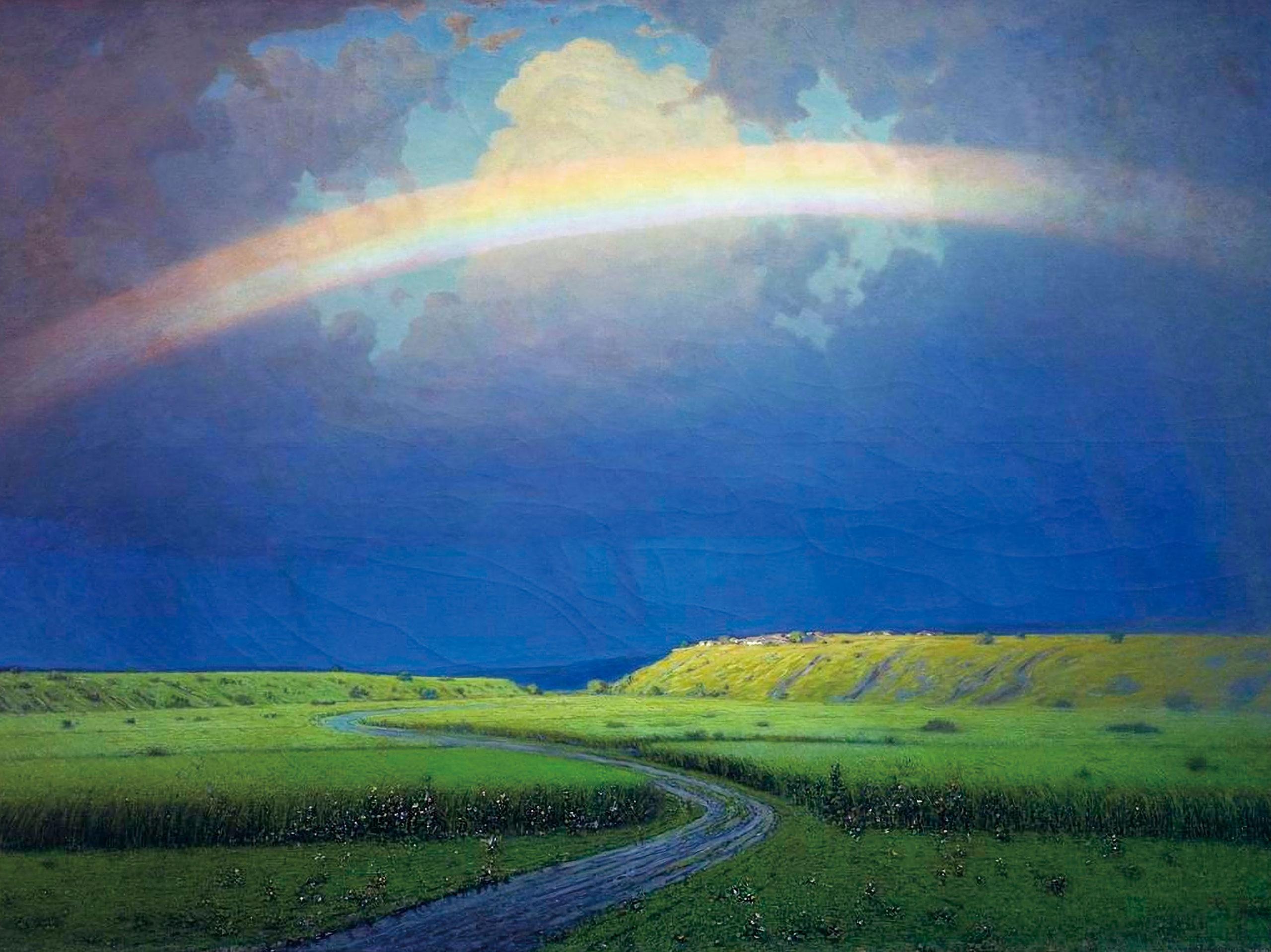 Arkhip Kuindzhi - Rainbow 2732x2048