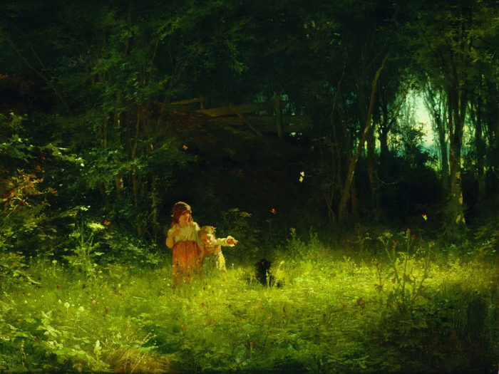 Ivan Kramskoy - Children in the woods 2732x2048