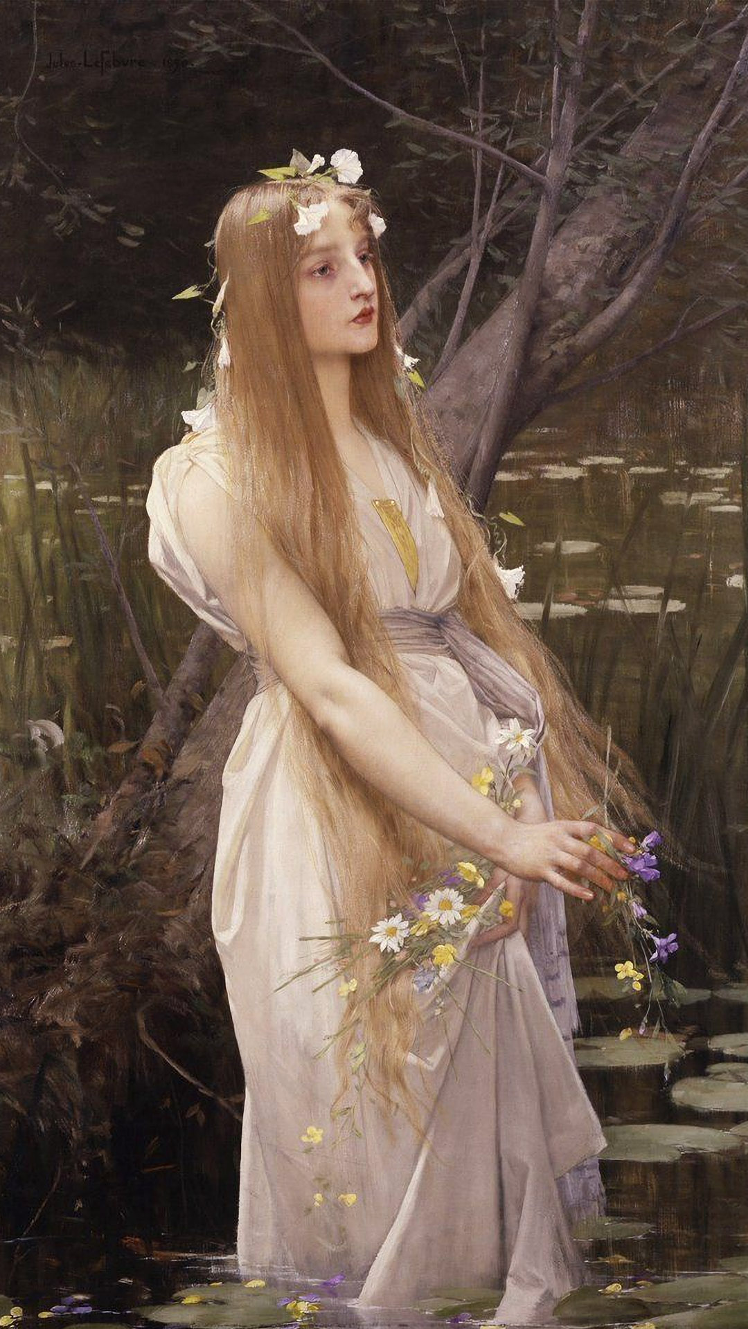 Jules-Joseph Lefebvre - Ophelia 1080x1920