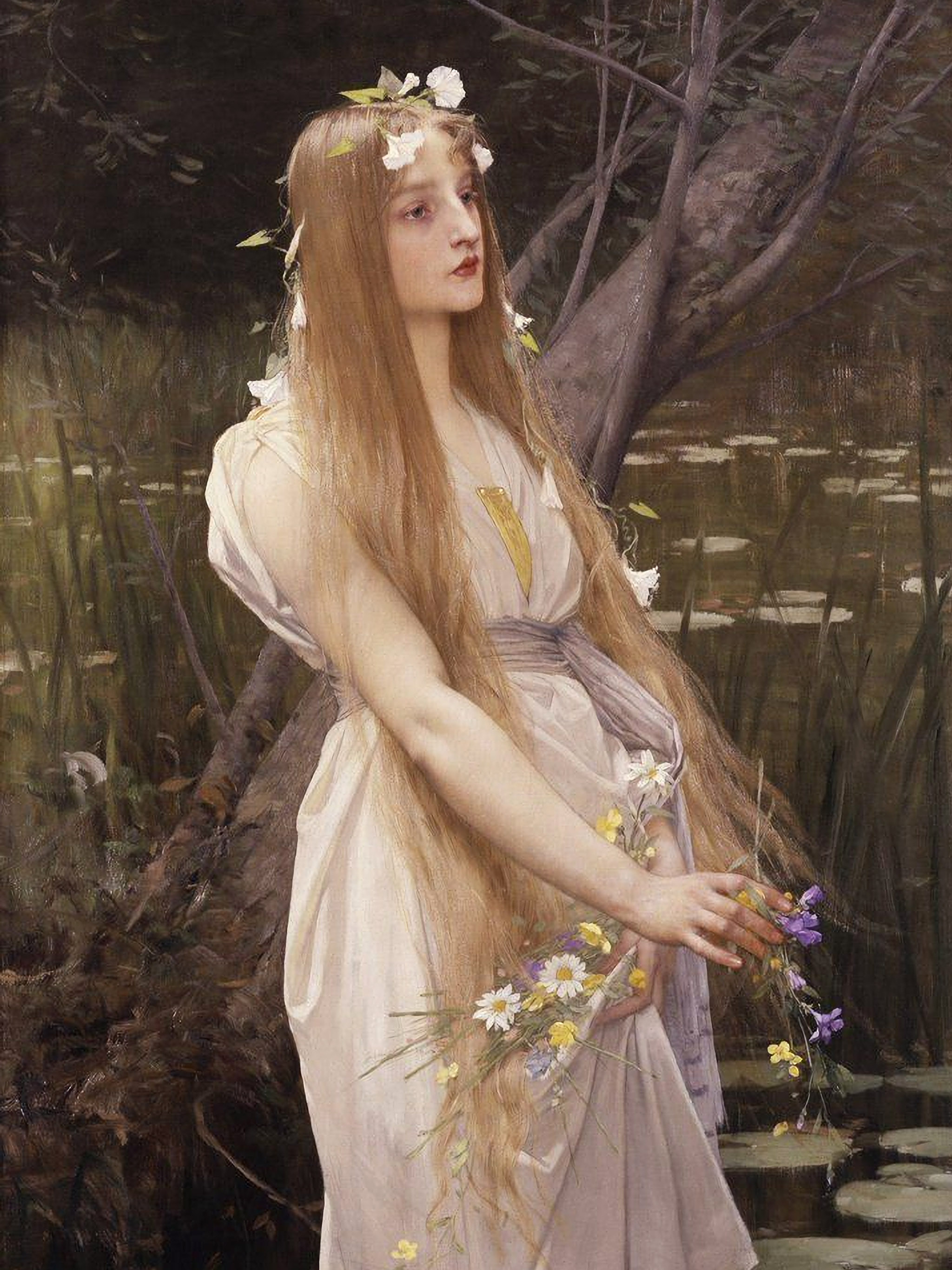 Jules-Joseph Lefebvre - Ophelia 2048x2732