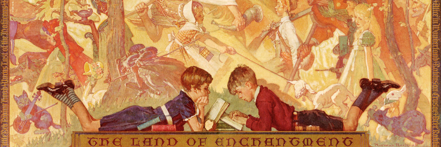 Norman Rockwell - Land of Enchantment 1500x500