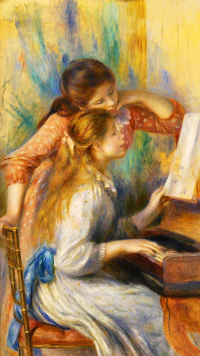 Renoir - Jeunes filles au piano 1080x1920