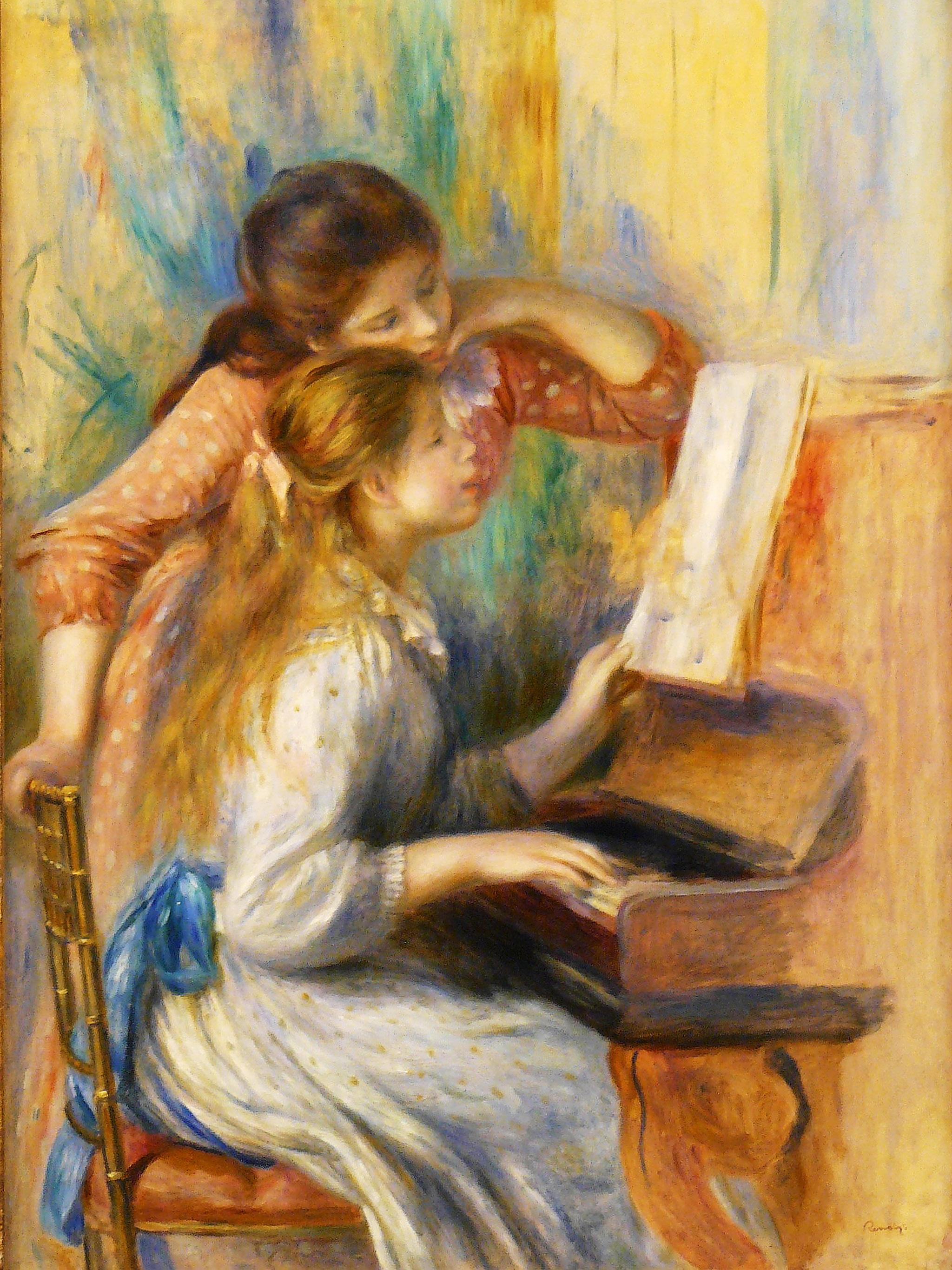 Renoir - Jeunes filles au piano 2048x2732