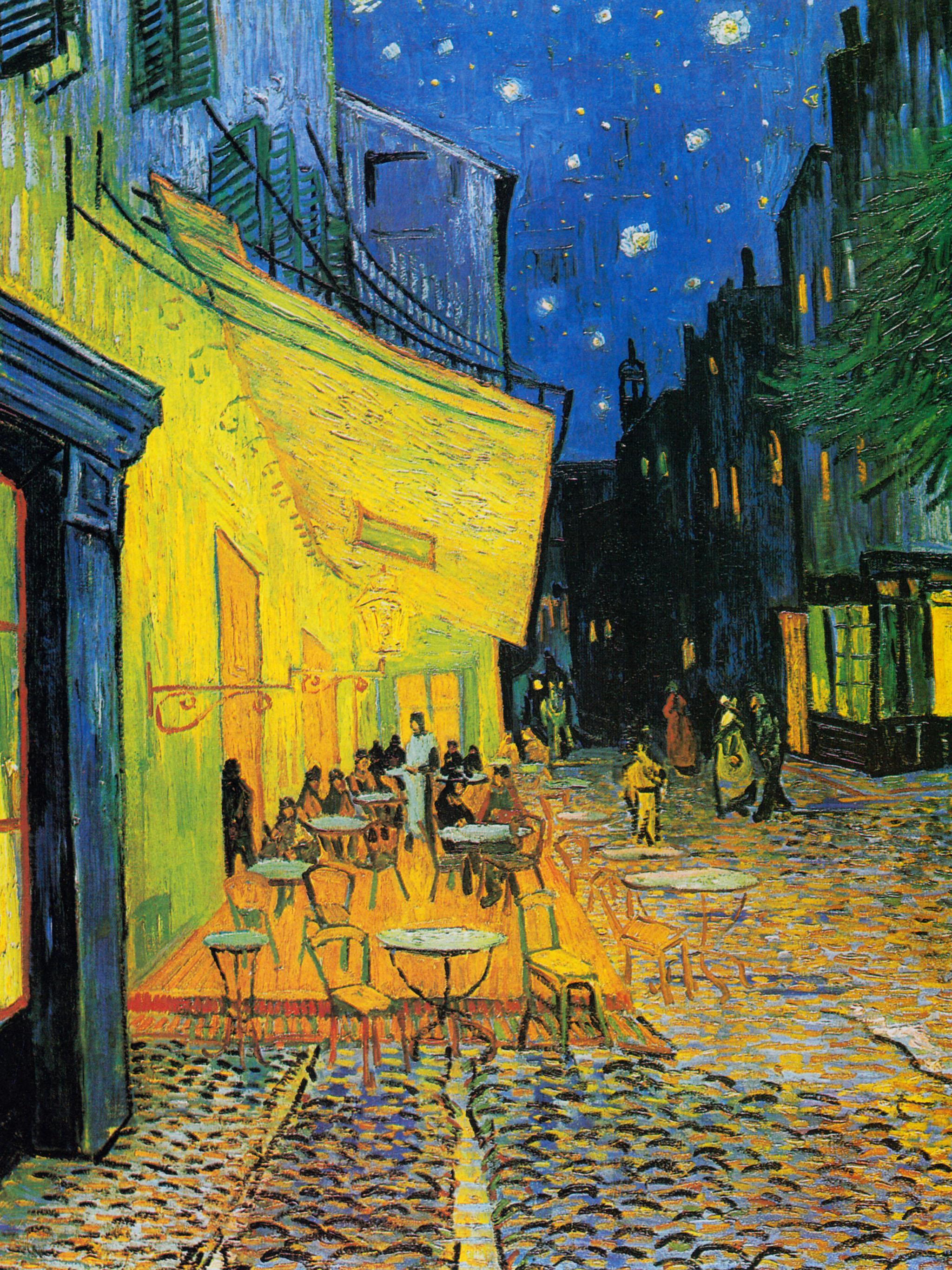 Vincent van Gogh – Cafe Terrace at Night 2048x2732