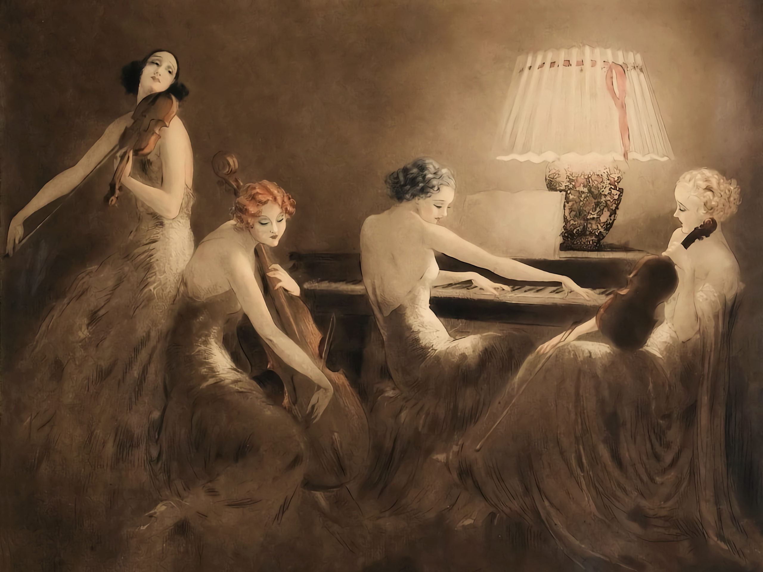 Louis Icart – Melody Hour 2732x2048