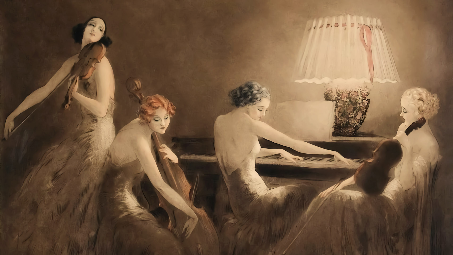 Louis Icart – Melody Hour 1920x1080