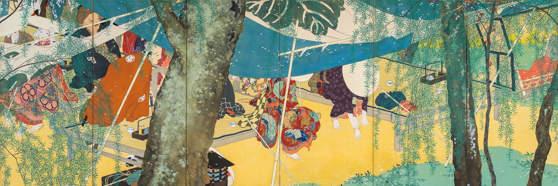 konoshima oukoku - Umayaji no haru hidari 1500x500
