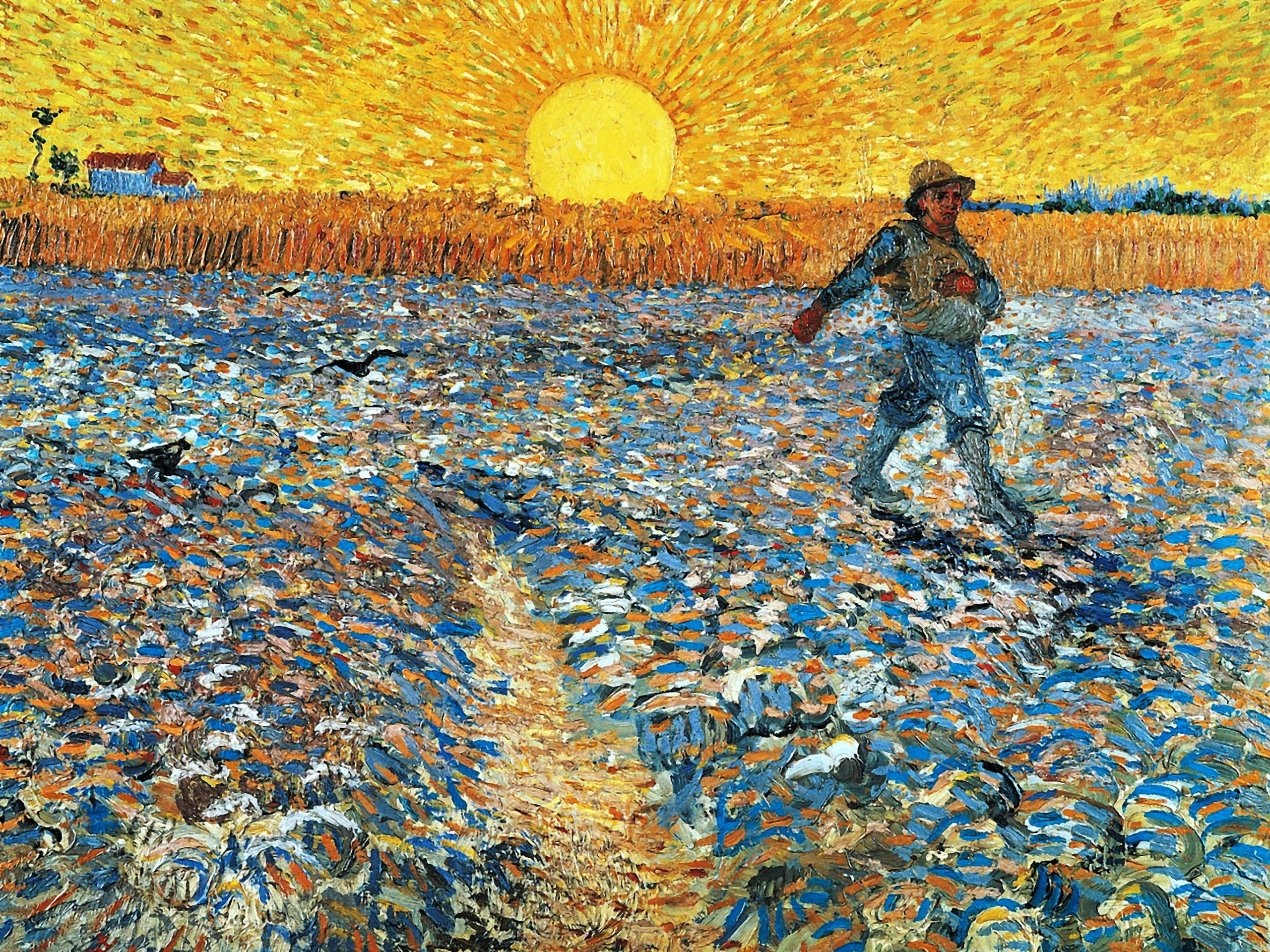 Vincent van Gogh – The Sower 2732x2048
