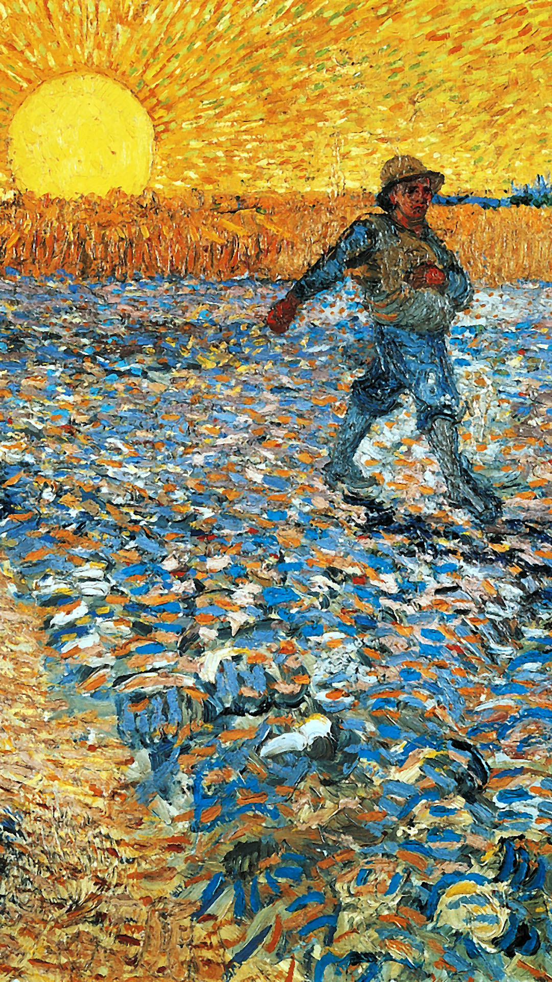Vincent van Gogh – The Sower 1080x1920