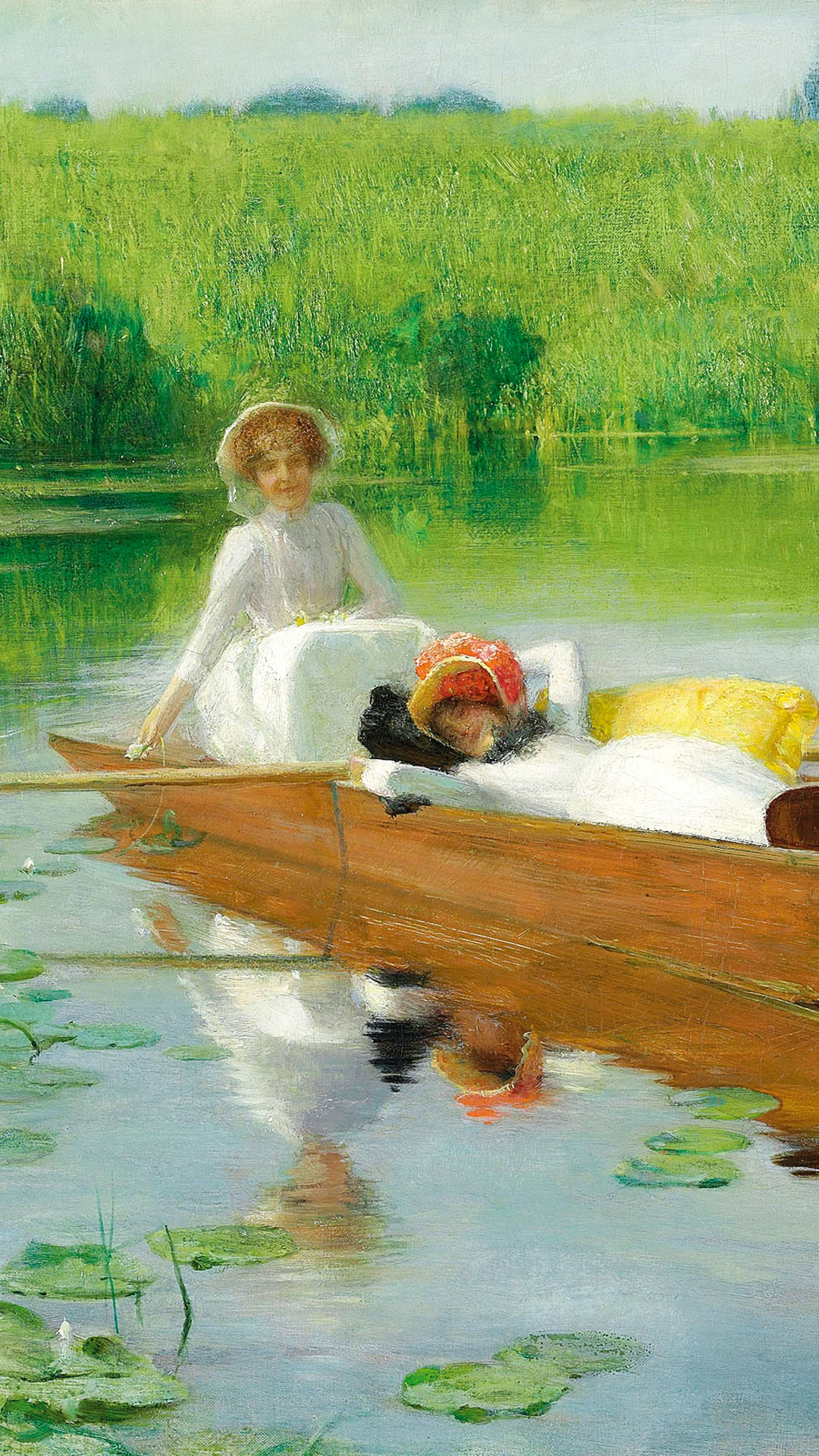 Arthur Hacker - Punting on the Thames 1080x1920