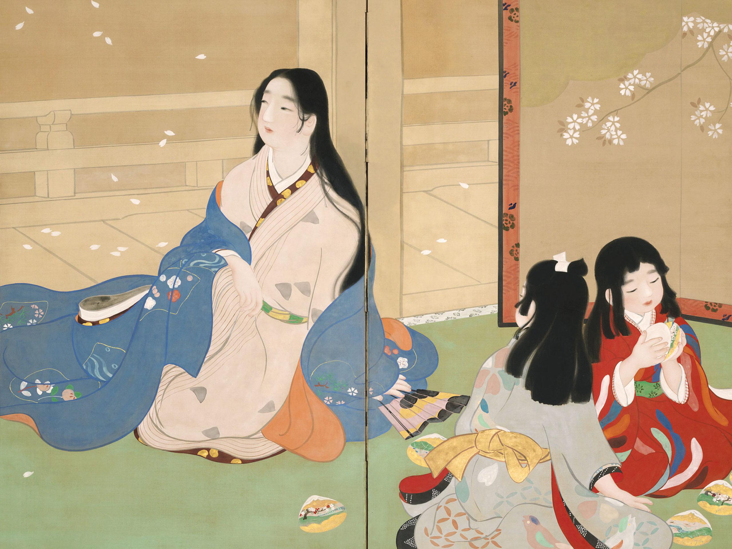 Ikeda Shoen - Kai awase 2732x2048