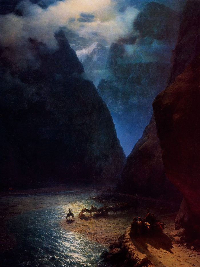 Ivan Aivazovsky - Darial Gorge 2048x2732