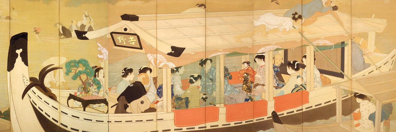 Kaburaki Kiyokata - Sumidagawa shuyu 1500x500