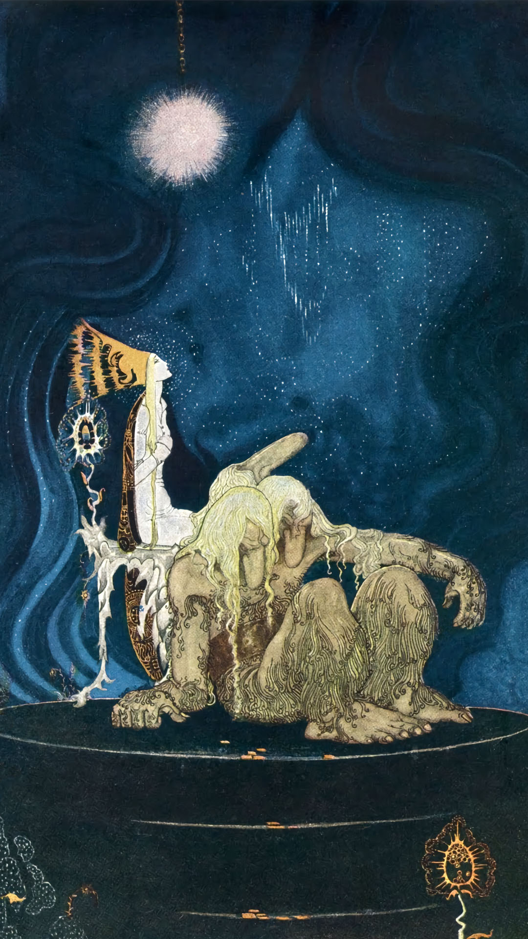 Kay Nielsen - East of the Sun and West of the Moon - old tales from the North 1080x1920