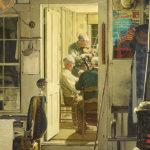 ノーマン・ロックウェル / Shuffleton's Barbershop