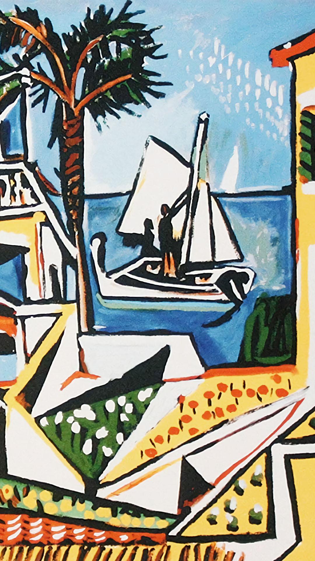 Pablo Picasso - Mediterranean Landscape 1080x1920