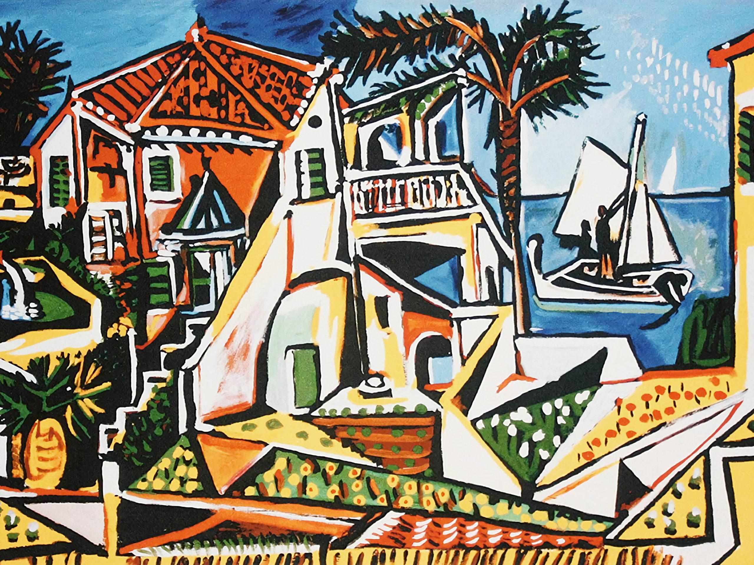 Pablo Picasso - Mediterranean Landscape 2732x2048