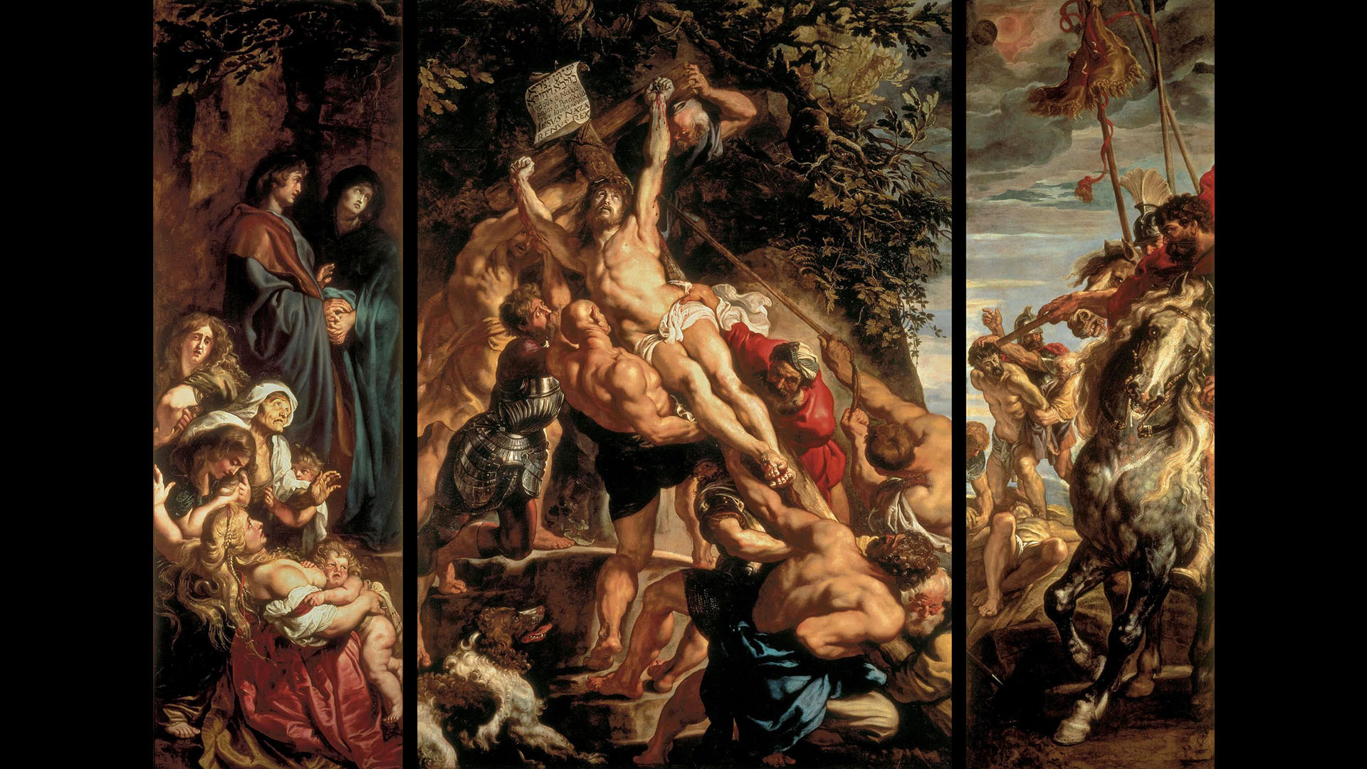 Peter Paul Rubens - The Elevation of the Cross 1920x1080 2