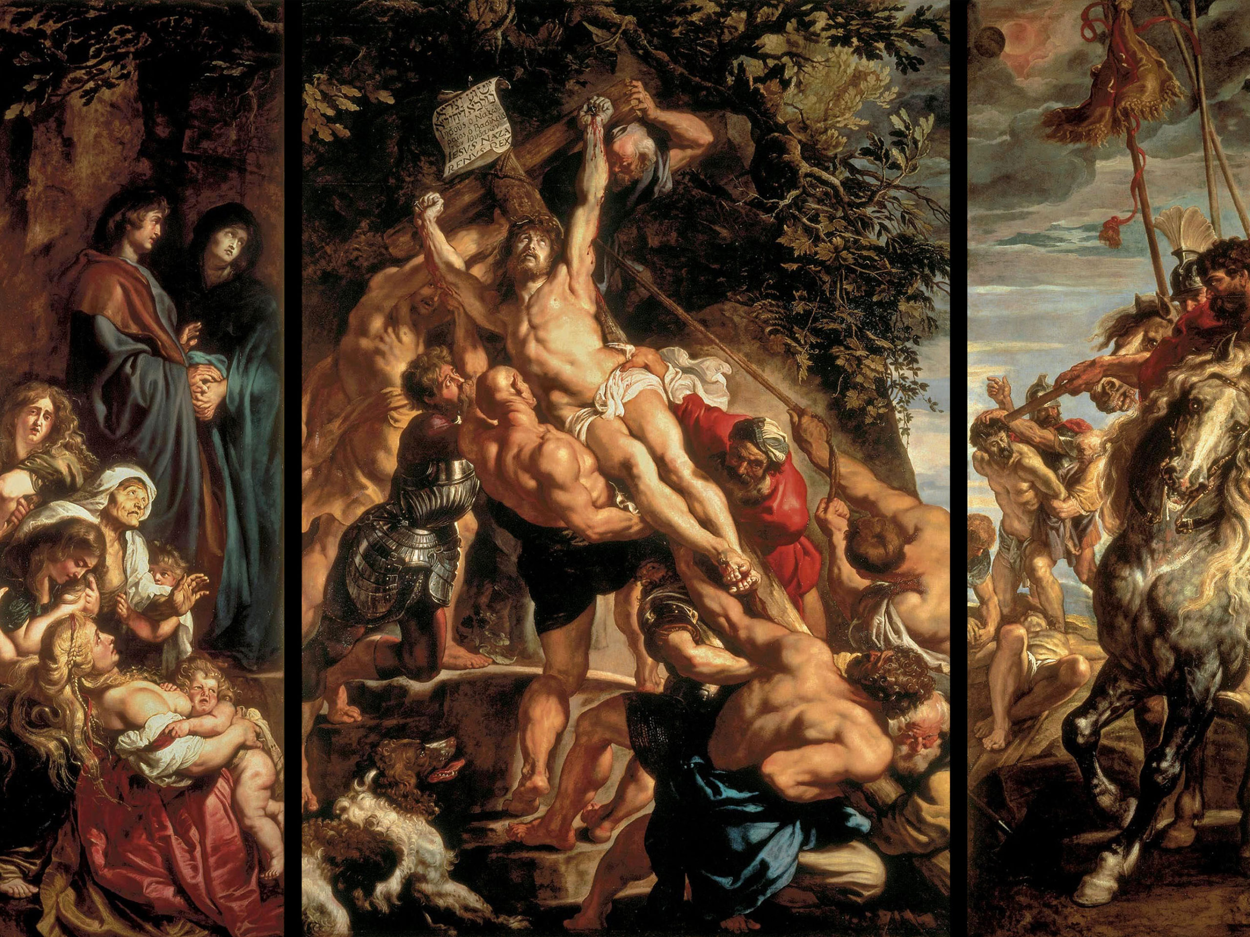 Peter Paul Rubens - The Elevation of the Cross 2732x2048