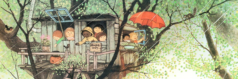 Gyo Fujikawa - It's raining! 1500x500