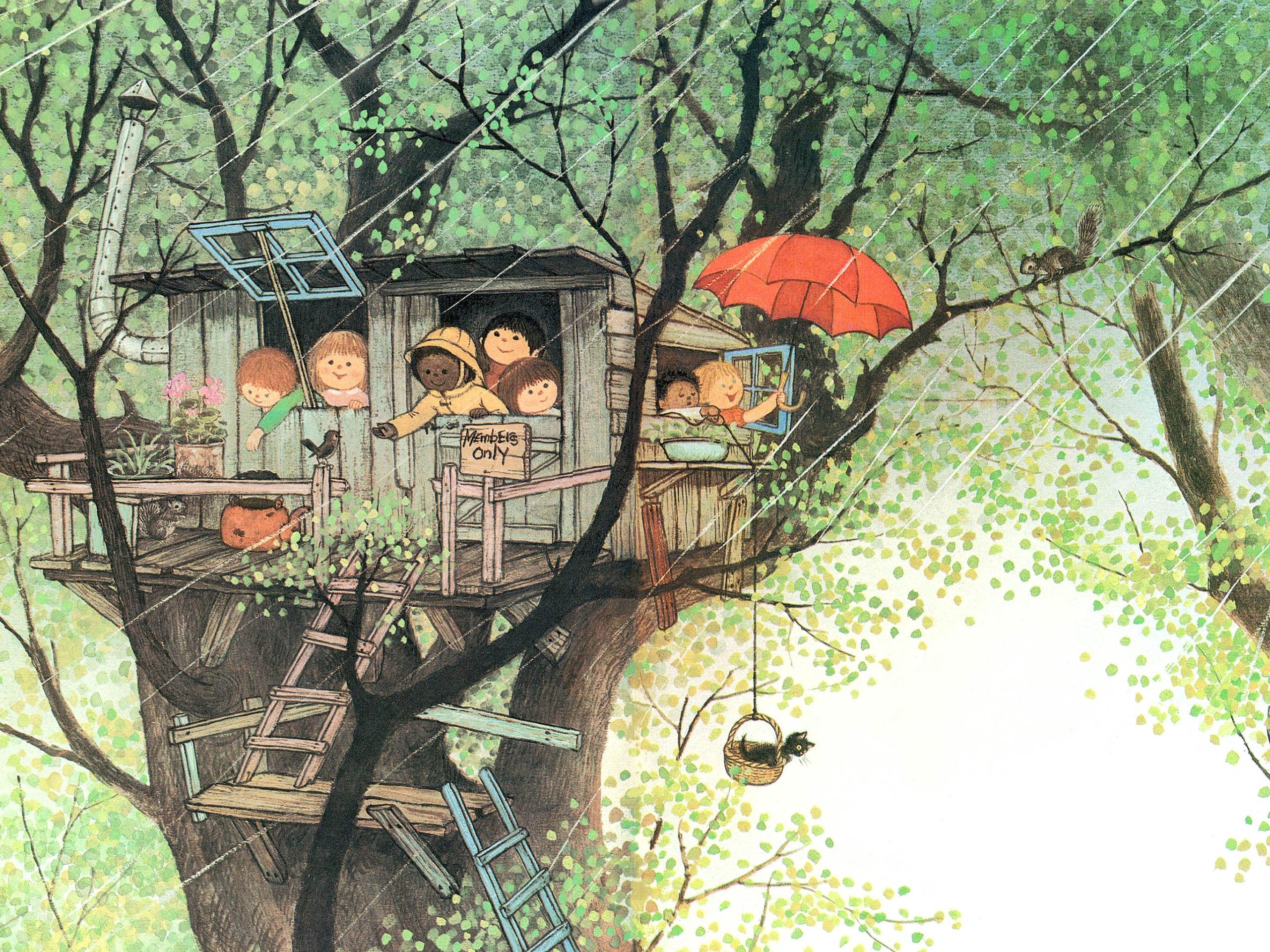 Gyo Fujikawa - It's raining! 2732x2048