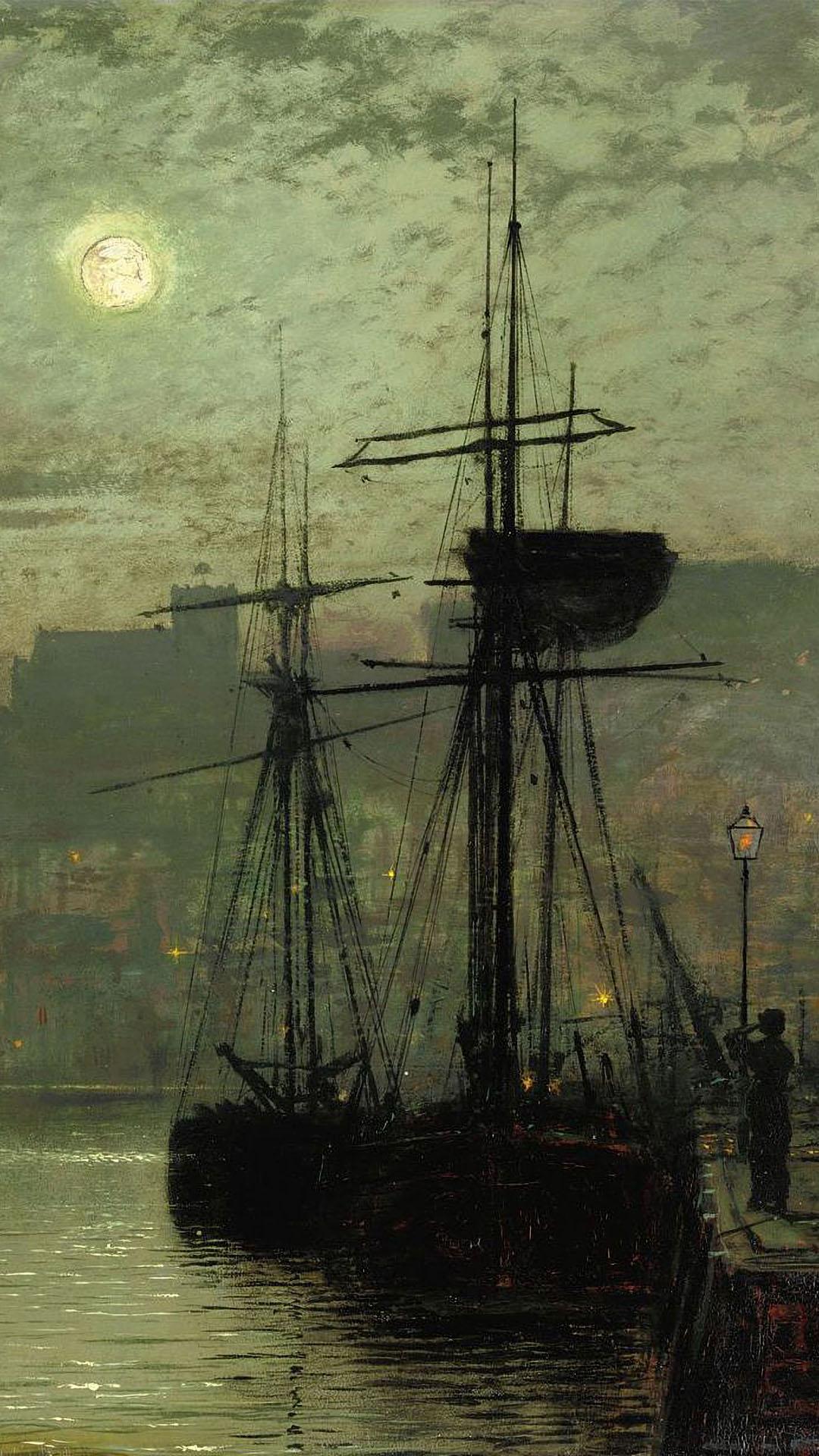 John Atkinson Grimshaw - Scarborough 1080x1920
